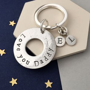 Love You Daddy Keyring - gifts for him