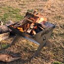 Personalised Slot Together Portable Camping Fire Pit