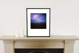Dusk, Suffolk Photographic Art Print