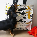 Dachshund Pollock Shopping Bag