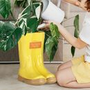 Personalised Sunflower Yellow Welly Boot Planters