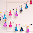 Paper Tassel Garland Craft Kit