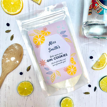 New Personalised Gin Cookie Mix