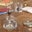 Personalised Stag Head Whisky Decanter