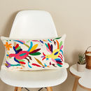 Otomi Hand Embroidered Mexican Fair Trade Cushion