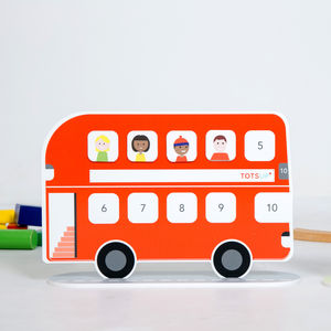 Personalised Magnetic Bus Reward Chart - gifts for children