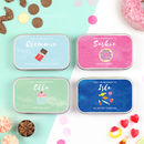 Personalised Sweet Treats Keepsake Tins