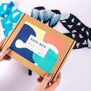 Colourful Mens Sock Box