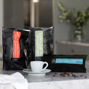 Personalised Three Month Coffee Subscription Gift - first father's day