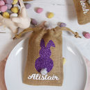 Easter Jute Bag Place Names