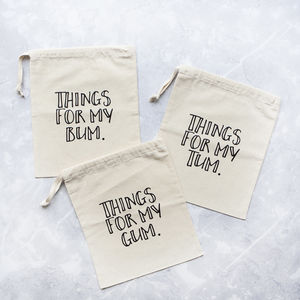 'Things For My' Baby Changing Bag Organisation Set - mum & baby gifts