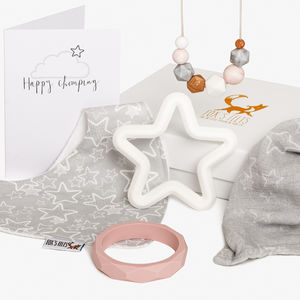 Starry Night Luxury Star Teething Hamper