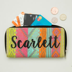 Personalised Aztec Purse