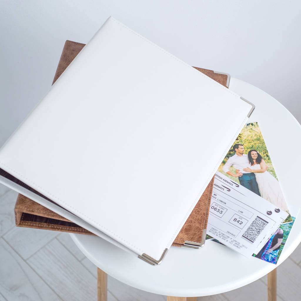 A4 Leather Ring Binder By Oh So Cherished