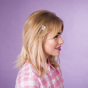 Tropical Hair Bobby Pins Gold Or Silver