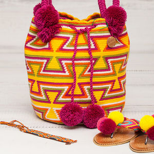 Original Papaya Pompom Bag - bags & purses