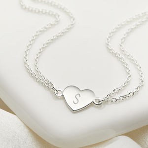 Personalised Little Wish Heart Bracelet - wedding jewellery