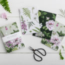 Pack Of Three Summer Garden Notebooks