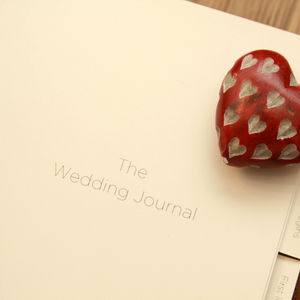 Personalised Luxury Wedding Journal Inserts - albums & guest books