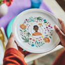 Personalised Portrait Keepsake Plate