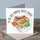 Best Sunday Roast Maker Father's Day Greetings Card
