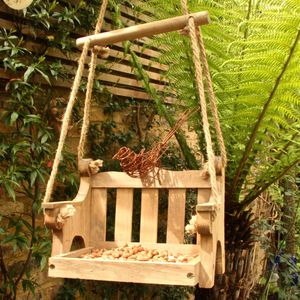 Swingseat Bird Feeder And Wire Bird