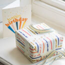 Birthday Candle Gift Wrap Set