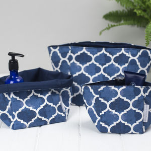 Isabel Storage Boxes, Set Of Three - storage & organisers