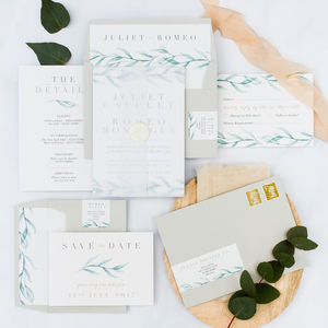 Verona Invitation Parcel Bundle - invitations