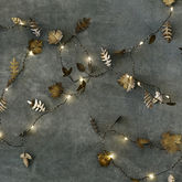 Twinkle Leaf Garland - christmas decorations