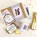18th Birthday Gift Box 'Birthday In A Box' 18th