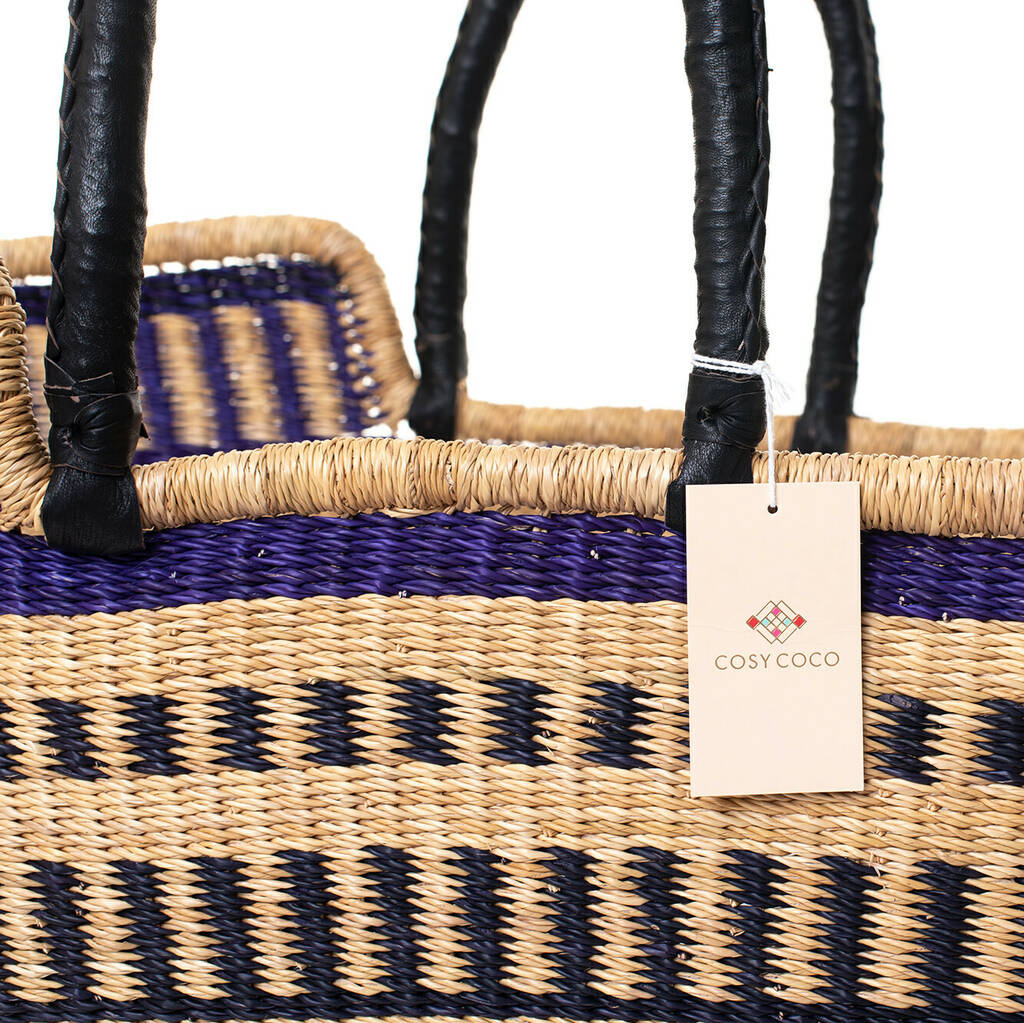 Purple Rain Coloured Moses Basket With Mattress By Cosy ...