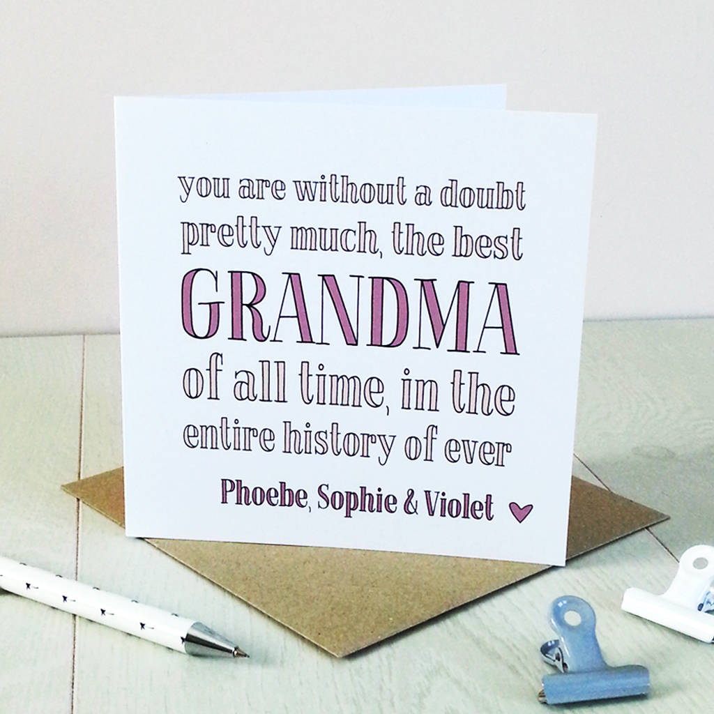 cards for grandma