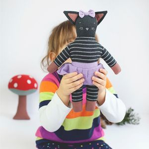 Fair Trade Olive The Kitty Soft Toy - whatsnew