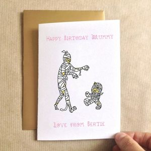 Birthday Mummy Birthday Card