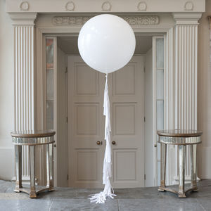 Innocence Giant Balloon - winter styling