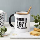Personalised Birth Year Mug