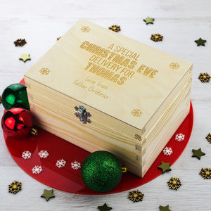 Personalised Christmas Eve Box - storage & organisers