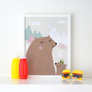 Big Bear Little Bear Children's Print - baby & child sale