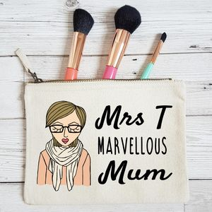Marvellous Mum Personalised Makeup Bag