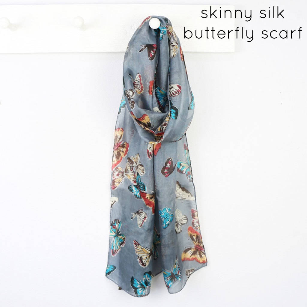butterfly scarf by notonthehighstreet