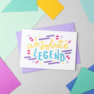 'Absolute Legend' Card