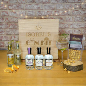 Personalised Gin Hamper - gin