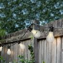 Garden String Lights With Hooks