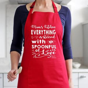 Stirred With A Spoonful Of Love Personalised Apron