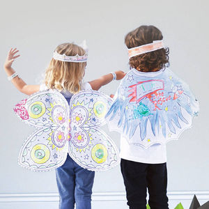 Colour In Fancy Dress Activity Set - children's parties