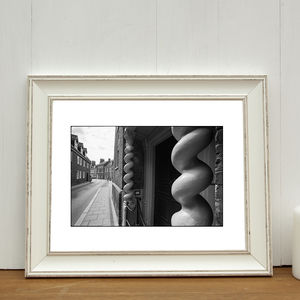 Curly Pillars, King's Lynn Photographic Art Print