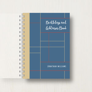 Personalised Birthday And Address Book: Abstract
