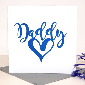 Daddy Birthday Card 'Love Daddy'