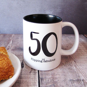 50 And Flipping Fabulous Mug
